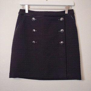 White House Black Market Tweed Mini Skirt 0